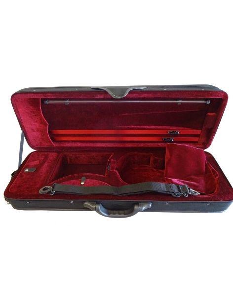 Oblong violin case...