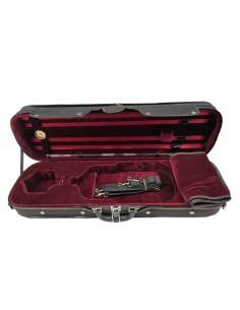 Violin Case, wood, red...