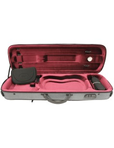 Quality oblong violin case...