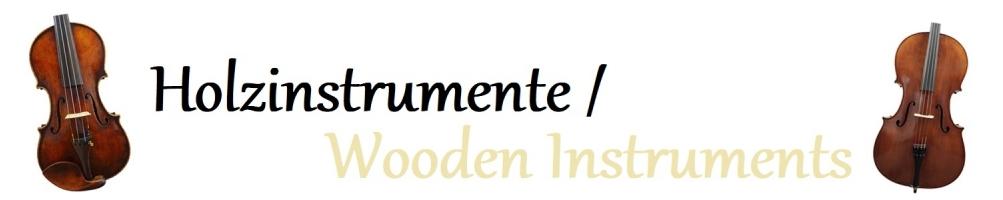 Holzinstrumente